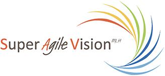 Logo SuperAgileVision MLH Conseil